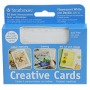 "Strathmore Creative Announcement Cards Fluorescent White/Deckle - 3 1/2"" x 4 7/8"""
