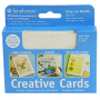 "Strathmore Creative Announcement Cards Ivory/Deckle - 3 1/2"" x 4 7/8"""
