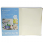 "Strathmore Creative Greeting Cards Ivory/Deckle - 5"" x 6 7/8"""