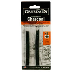 General's Compressed Charcoal Stick 4B