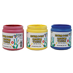 Demco Finger Primary Colours Paint Set