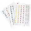 Daniel Smith Extra Fine Watercolors Dot Try It Card 238 Dots