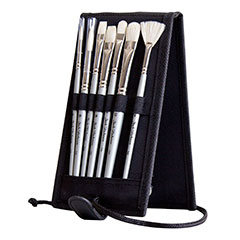 Jack Richeson Plein Air Travel Brush Set Oil