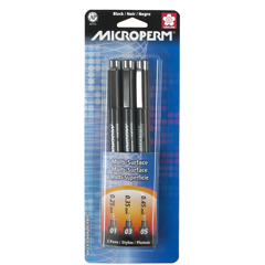Sakura Microperm Pen Set