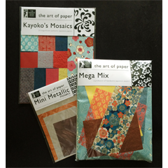 Japanese Paper Place Potluck Mosaics Mini Metallic