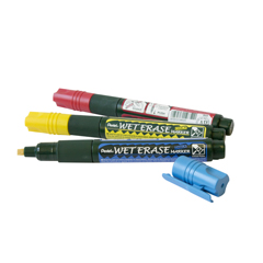 Pentel Wet Erase Chalk Marker Yellow