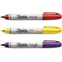 Sharpie Brush Tip - Black