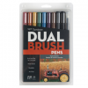 Tombow Dual Brush Pen Set Muted Palette