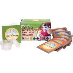 Natural Earth Paint The Children's Earth Paint Kit