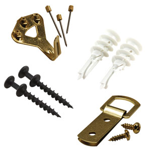Picture Hanging Hardware & Tools