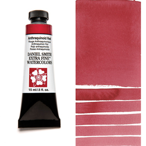 Daniel Smith Extra Fine Watercolors Anthraquinoid Red