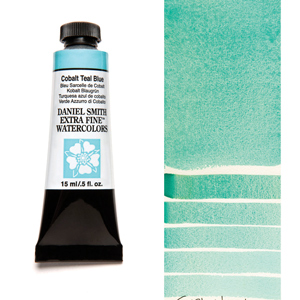 Daniel Smith Extra Fine Watercolors Cobalt Teal Blue