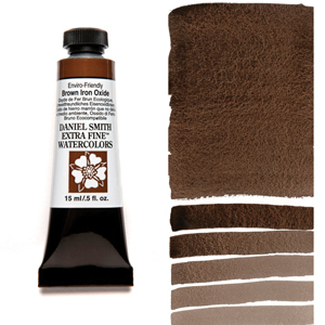 Daniel Smith Extra Fine Watercolors Enviro-friendly Brown Iron Oxide