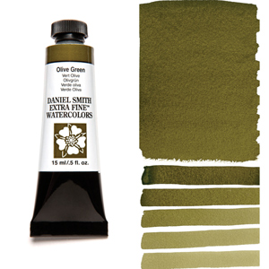 Daniel Smith Extra Fine Watercolors Olive Green