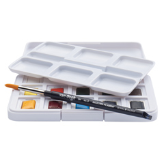 van Gogh Water Colour Pocket Box Half Pan