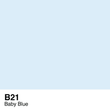 COPIC Sketch Marker Pen - Baby Blue (B21)