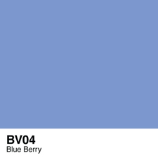 COPIC Sketch Marker Pen - Blue Berry (BV04)
