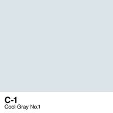 COPIC Sketch Marker Pen - Cool Gray #1 (C1)