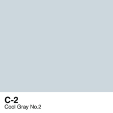 COPIC Sketch Marker Pen - Cool Gray #2 (C2)