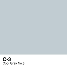 COPIC Sketch Marker Pen - Cool Gray #3 (C3)