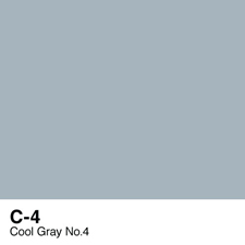 COPIC Sketch Marker Pen - Cool Gray #4 (C4)