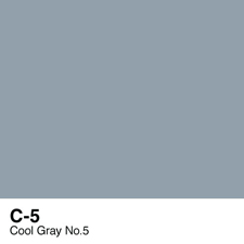 COPIC Sketch Marker Pen - Cool Gray #5 (C5)