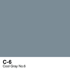 COPIC Sketch Marker Pen - Cool Gray #6 (C6)