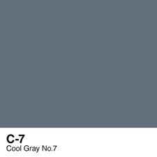 COPIC Sketch Marker Pen - Cool Gray #7 (C7)