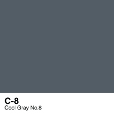 COPIC Sketch Marker Pen - Cool Gray #8 (C8)