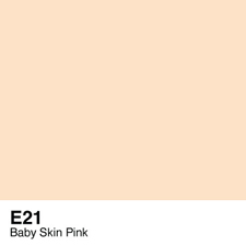 COPIC Sketch Marker Pen - Baby Skin Pink (E21)