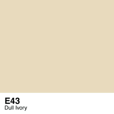 COPIC Sketch Marker Pen - Dull Ivory (E43)