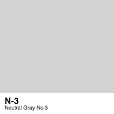 COPIC Sketch Marker Pen - Neutral Gray #3 (N3)