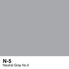 COPIC Sketch Marker Pen - Neutral Gray #5 (N5)