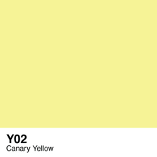 COPIC Sketch Marker Pen - Canary Yellow (Y02)