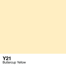 COPIC Sketch Marker Pen - Buttercup Yellow (Y21)