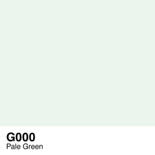 COPIC Sketch Marker Pen - Pale Green (G000)