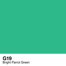 COPIC Sketch Marker Pen - Bright Parrot Green (G19)