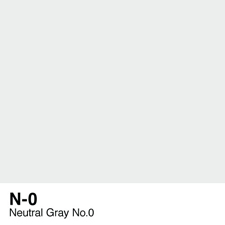 COPIC Sketch Marker Pen - Neutral Gray #0 (N0)