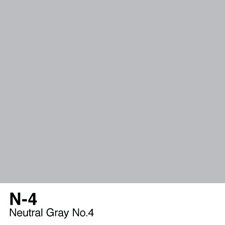 COPIC Sketch Marker Pen - Neutral Gray #4 (N4)