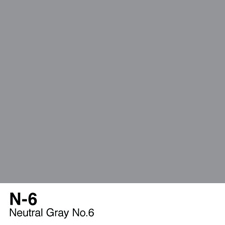 COPIC Sketch Marker Pen - Neutral Gray #6 (N6)