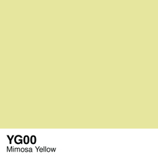 COPIC Sketch Marker Pen - Mimosa Yellow (YG00)