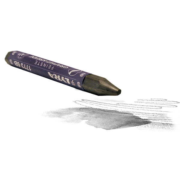 Lyra Watersoluble Graphite Crayon 6B