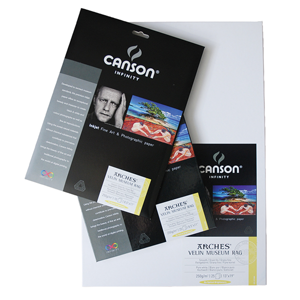 Canson Infinity Velin Museum Rag Paper 250 gsm  Pk/25 (Special Order)