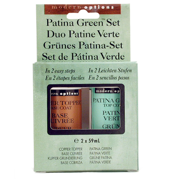 Sophisticated Finishes Antiquing Patina Green Solution Kit