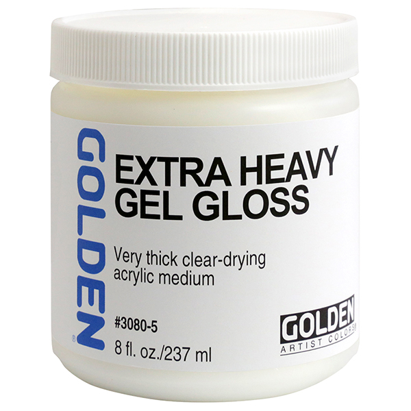 GOLDEN Extra-Heavy Gel Medium Gloss
