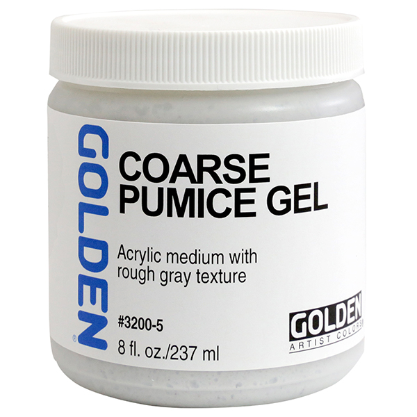 GOLDEN Pumice Gel Medium Coarse