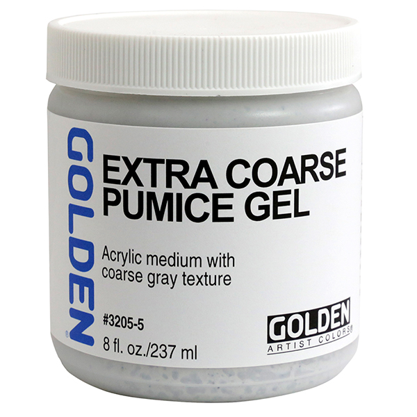GOLDEN Pumice Gel Medium Extra-Coarse