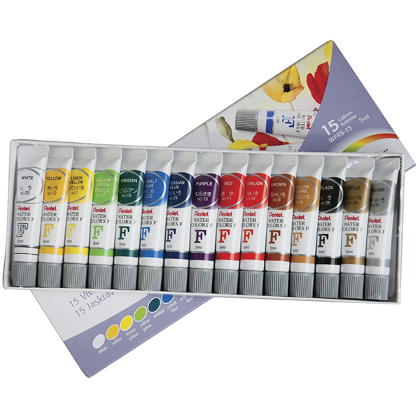 Pentel Student Watercolor Set