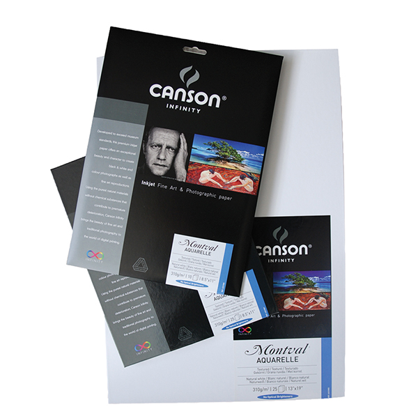 Canson Infinity Rag Photographique Paper 310 gsm Pk/25 (Special Order)