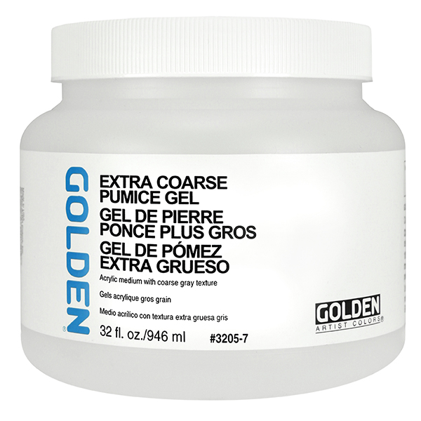 GOLDEN Pumice Gel Medium Extra-Coarse (Special Order)